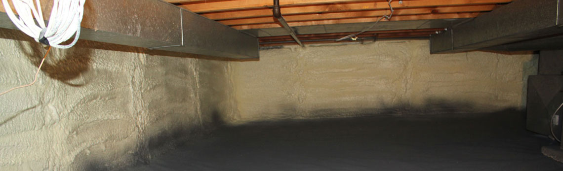 crawl space insulation in Utah